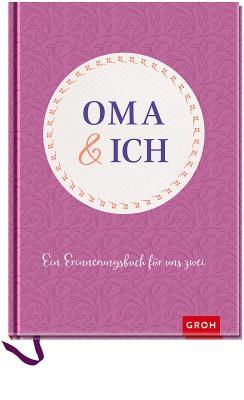 Groh Buch Oma und ich Erinnerungsbuch
