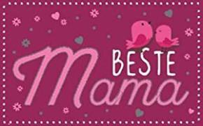Geburtstagsteelicht in kleiner Box Beste Mama