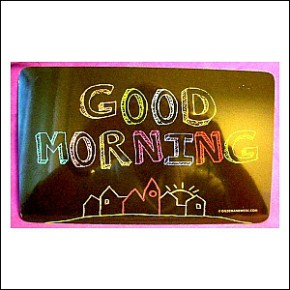 Frühstücksbrettchen Good Morning