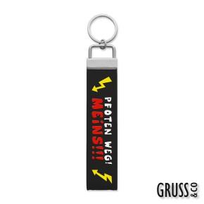 Gruss & Co Schlüsselanhänger Schlüsselband Pfoten weg! Meins! 44247