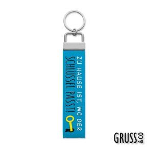 Gruss & Co Schlüsselanhänger Schlüsselband Zu Hause ist,..  44255