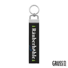 Gruss & Co Schlüsselanhänger Schlüsselband Räuberhöhle 44257