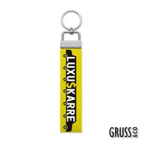Gruss & Co Schlüsselanhänger Schlüsselband  Luxus Karre 44258