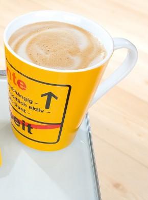 Porzellan Tasse Rente Geschenk zum Ruhestand