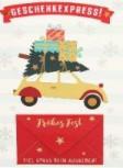 Lustige Weihnachtskarte Klappkarte Geschenkexpress! Viel Spaß beim Ausgeben