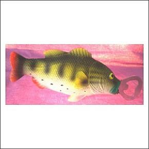 Fisch Bieröffner für Angler