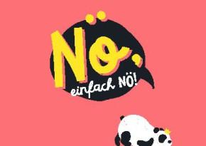 Neon Postkarte mit Spruch - Nö, einfach nö!