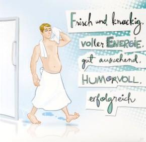 Geburtstagskarte mit Musik 3868-027 Frisch und Knackig