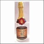 Geldgeschenke 40 Geburtstag Sektflasche