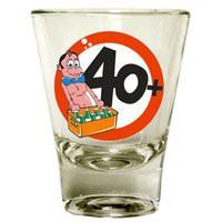 Schnapsglas 40 Jahre Artikel 67368