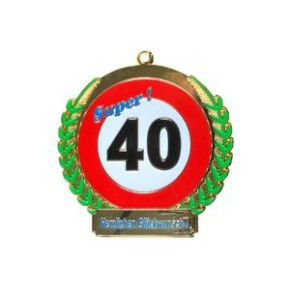 Orden 40. Geburtstag