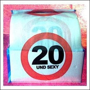 Witziges Klopapier 20 Geburtstag