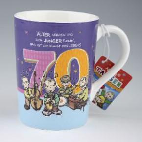 Archies Becher zum 70. Geburtstag
