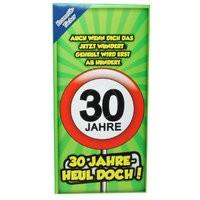 Geschenke 30. Geburtstag Kosmetik-Tücher 30