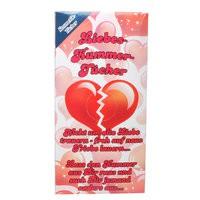 Kleines Liebesgeschenk Kosmetik-Tcher Liebes-Kummer