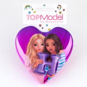 Top Model Klapp Haarbuersten mit Buchstabe H