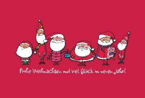 Lustige Weihnachtskarte 8634-018
