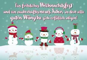 Lustige Weihnachtskarte 8634-020