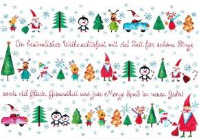 Lustige Weihnachtskarte 8634-024