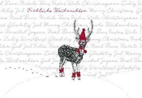 Lustige Weihnachtskarte 8634-033