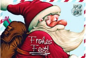 Lustige Weihnachtskarte 8634-035