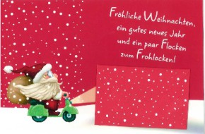 Lustige Weihnachtskarte 8634-036