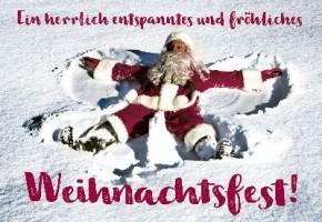 Lustige Weihnachtskarte 8634-038