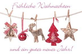 Lustige Weihnachtskarte Medi Klappkarte Weihnachten 001