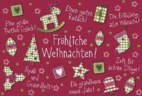 Lustige Weihnachtskarte Medi Klappkarte Weihnachten 003