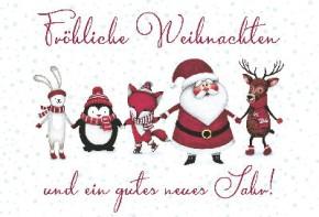 Lustige Weihnachtskarte Medi Klappkarte Weihnachten 007