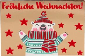 Lustige Weihnachtskarte Medi Klappkarte Weihnachten 011