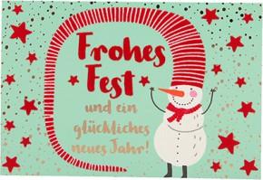 Lustige Weihnachtskarte Medi Klappkarte Weihnachten 014