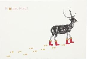Postkarten Weihnachten X-MAS Dreams 8636-041