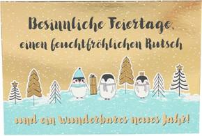 Postkarten Weihnachten X-MAS Dreams 8636-042