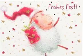 Postkarten Weihnachten X-MAS Dreams 8636-044