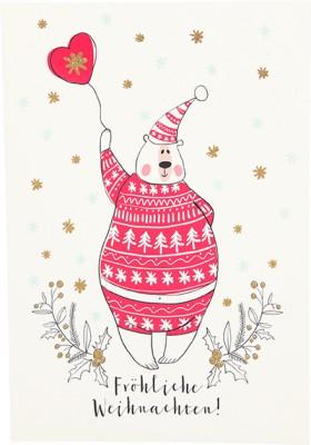 Postkarten Weihnachten X-MAS Dreams 8636-056