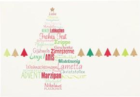 Postkarten Weihnachten X-MAS Dreams 8636-060