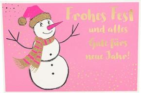 Postkarten Weihnachten X-MAS Dreams 8636-064