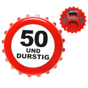 Bieröffner Öffner Kronkorken 50. Geburtstag