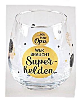 """Whiskyglas, Wasserglas oder auch Weinglas mit Spruch """"Wer braucht"""""""