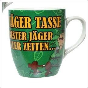 Fun-Becher Tasse Bester Jger aller Zeiten Artikel 90499