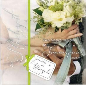 Depesche Emotions Klappkarte 044c zur Hochzeit