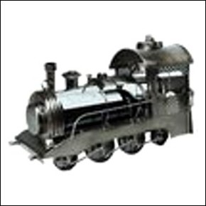Flaschenhalter Lokomotive