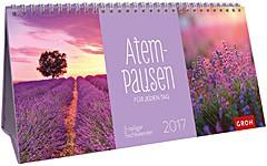 Jahreskalender 2017 Tischkalender Atempausen