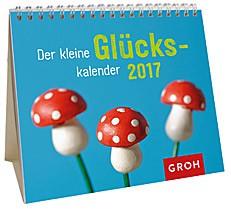 Jahreskalender 2017 Mini-Kalender zum Aufstellen Glück