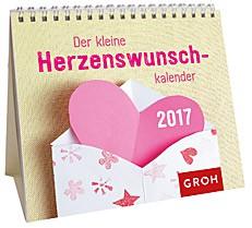 Jahreskalender 2017 Der Herzenswunschkalender