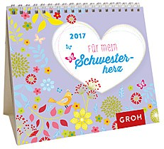 Jahreskalender 2017 Mini-Kalender tolle Schwestern