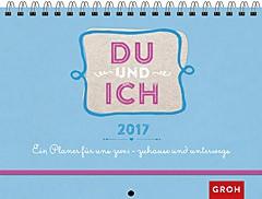 Jahreskalender Du & Ich 2017 Pärchenplaner