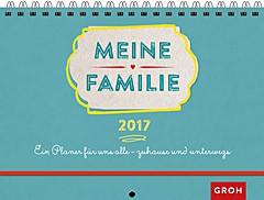 Jahreskalender 2017 Wochenplaner für die ganze Familie