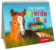 Groh Mini-Kalender 2018 zum Aufstellen Für kleine  Pferdefans